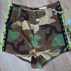 vintage LF camo shorts